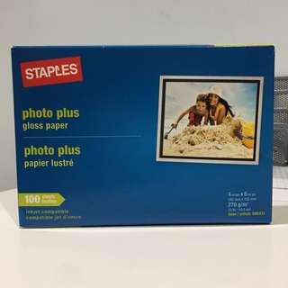 Photo paper glossy
