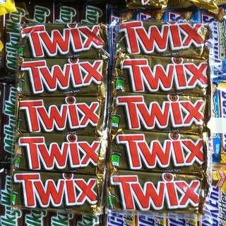 Twix Cookie Bars 50g (Pack of 5bars)