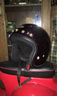 Helmet vintage max 5 button