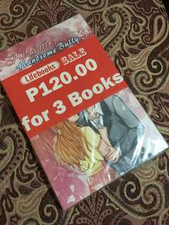 Kiss Me, Handsome Bully Book1-3 Bundle