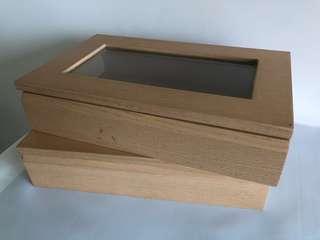 實木首飾箱2個