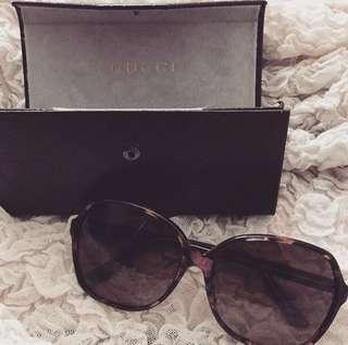 Gucci GG Floral Sunglasses