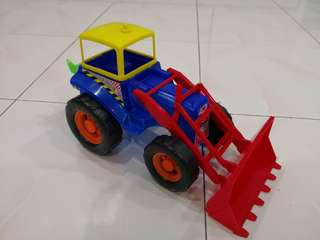 Backhoe wide loader plastic
