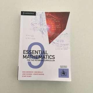 Essential Mathematics 9 Textbook