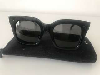 Celine black acetate sunglasses!