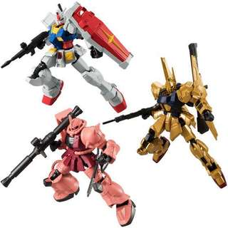 Mobile Suit Gundam G Frame 03 10Pack BOX (CANDY TOY)(Preorder-Sept2018)