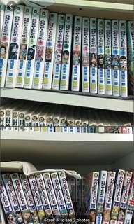 List of chinese Manga comics