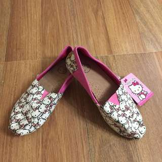 Authentic Hello Kitty Toms shoes