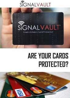 Signal Vault Debit & Credit Card Protector