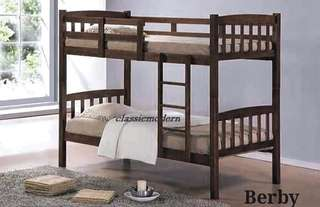 Brand new Double Deck Bed Frame BERBY