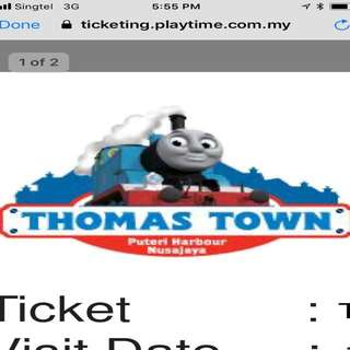 Thomas Town Tickets (2 tickets avail)
