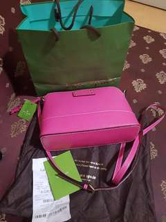 Auth. Kate Spade Hanna Wellesly Bag