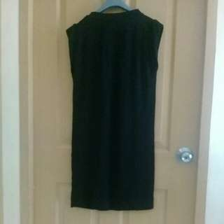 A.P.C. black dress