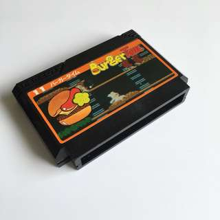 Burger Time - Famicom (original cart)