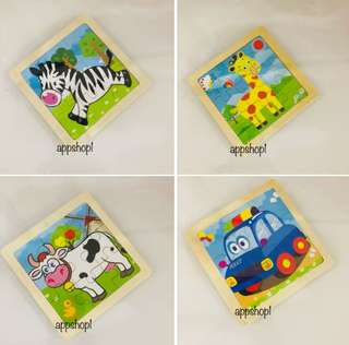 Quality and colorful wooden puzzle- goodies bag, goody bag gift, party goodies bag packages