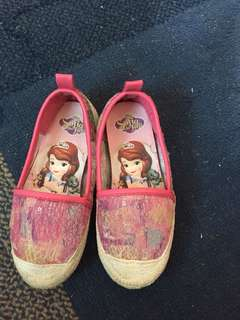 Sofia the first doll shoes preloved size 24