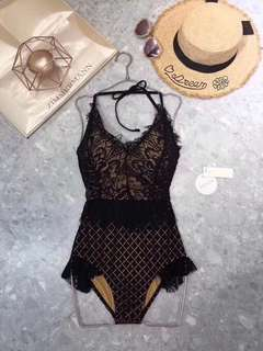 Zimmermann Lace One-piece Swimsuit