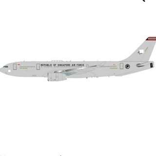 RSAF A330 MRTT Refuelling Tanker In flight With Stand Die Cast 200 Scale Pre Order