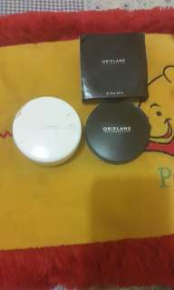 Wardah acne face powder & Oriflame pure colour pressed powder