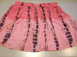 Pink Faded Skirt - Size Medium