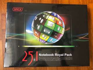 Spica 25 in 1 Notebook Royal Pack