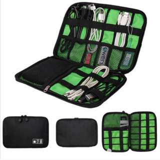 (Preorder) Cable Case Organizer with Storage for USB Drive / SD Card