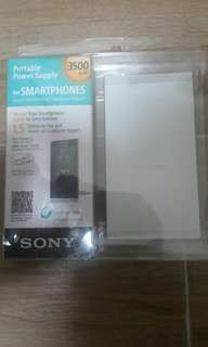 Sony 3500 mah 充電器