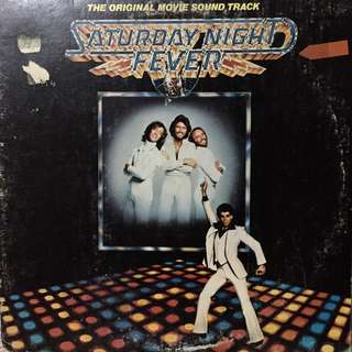 Saturday Night Fever OST Vinyl Player