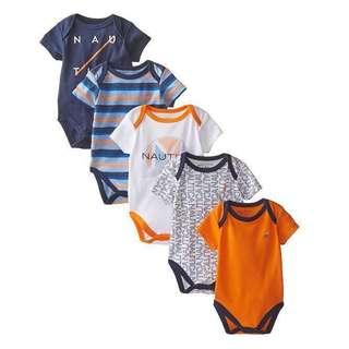 [NEW] Nautica Baby Boys Newborn 5 piece set