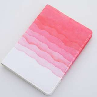 Clearance: BN Planner Notebook {red gradient design]
