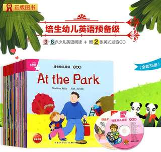Children English Book At The Park