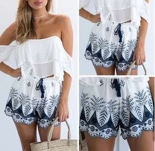Bohemian Lace Summer Short
