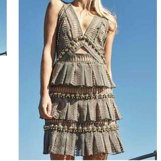 Thurley crescent Dress Size 8 RRP $600