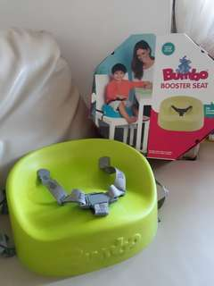 Bumbo booster seat