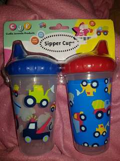 Imported 2 pcs. Sipper Cups 295ml