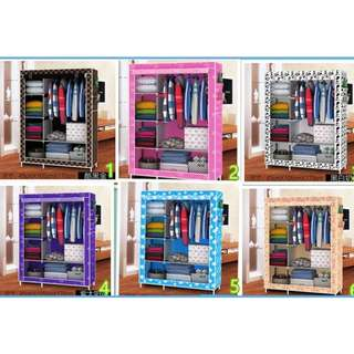 CLOTH RACK / LEMARI BAJU PORTABLE