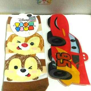 🚚 [銅板價] 2入 正品迪士尼直版加大襪,文具