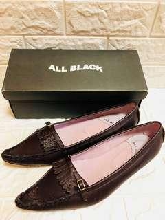 🚚 ALL BLACK專櫃女鞋 平底鞋 全新出清 特價