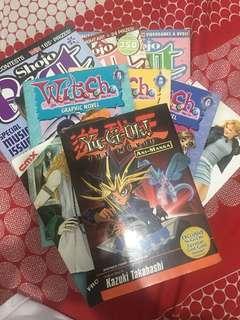 Assorted Manga Titles Comics For Sale