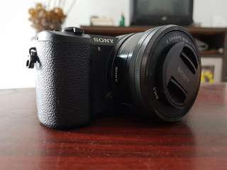 Sony A5100 with 16-50mm f3.5-5.6 kit lens