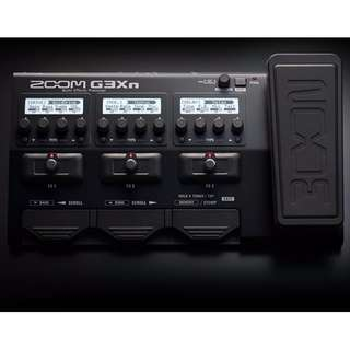 Zoom G3xn Guitar effects