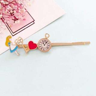 Alice in the wonderland hair clip