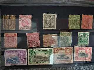 3 set of special vintage stamps at $25 only