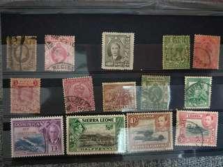 3 set of rare vintage stamps