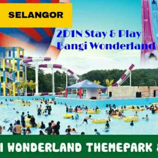 2D1N Stay & Play Bangi Wonderland Themeparks 4⭐ Hotel