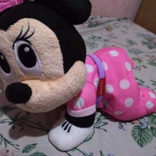Fisher Price Minnie Mouse Crawling