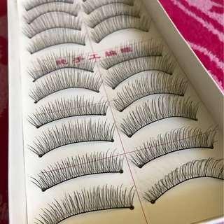 Fake eyelash 10 pairs