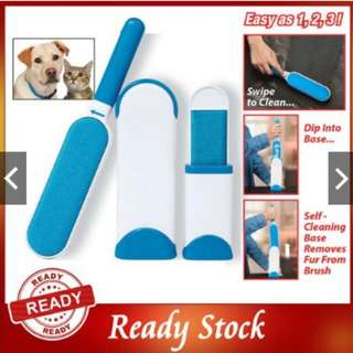 READY! Portable Hurricane Fur Wizard Pet Lint Remover Dust Pillow Sofa Cleaner