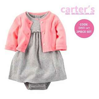 Baby Cardigan and Dress Set - DST09