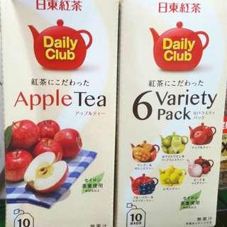 🚚 日東 蘋果紅茶/綜合水果紅茶